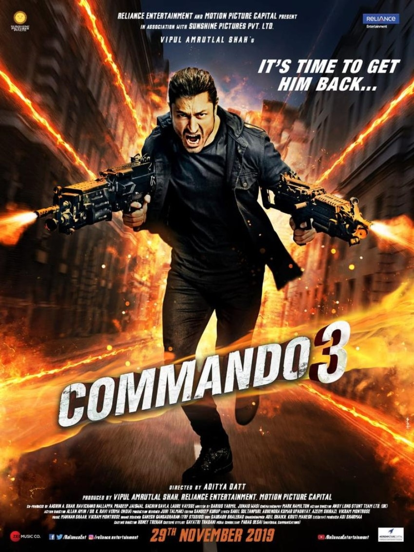 Commando 3 Photos