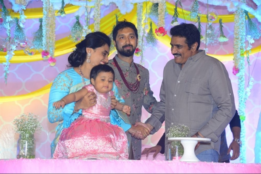 Director Bobby's Daughter Vaishu Birthday Celebrations Photos