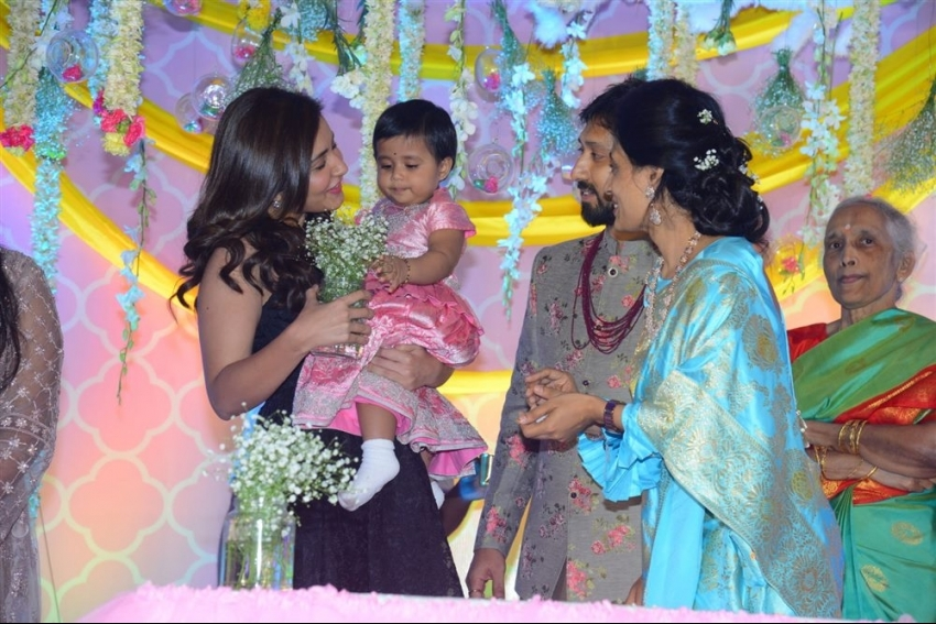 Director Bobby's Daughter Vaishu Birthday Celebrations Photos