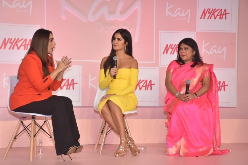 Katrina Kaif At Kay Beauty Launch Photos