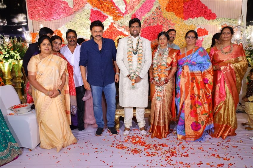 Kodi Rama Krishna's Second Daughter Pravallika Engagement Photos