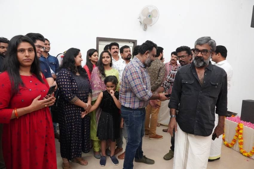 Mammootty New movie 'One' Pooja Photos