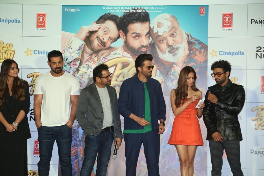 Pagalpanti Trailer Launch Photos