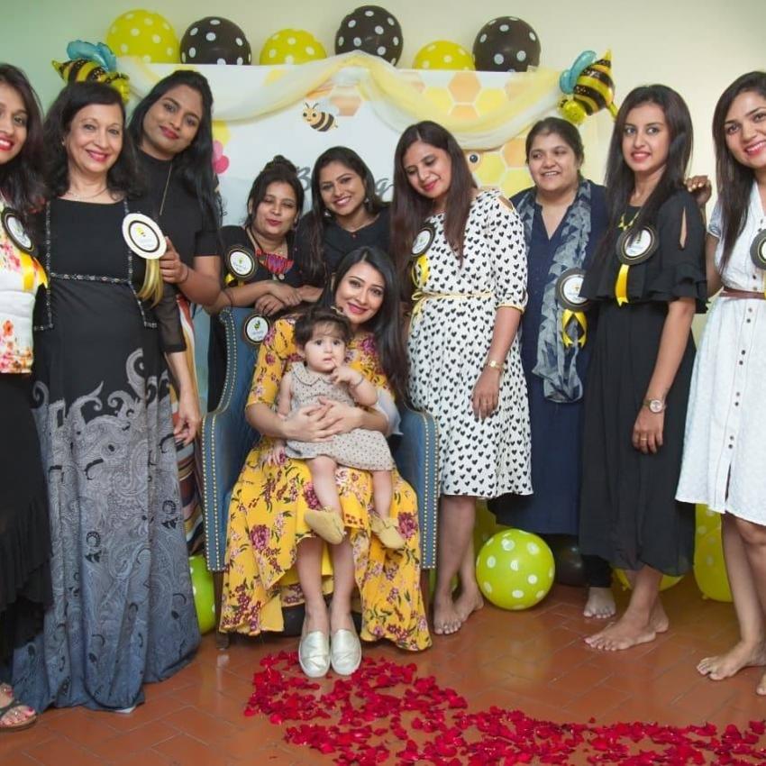 Radhika Pandit Second Baby Shower Photos