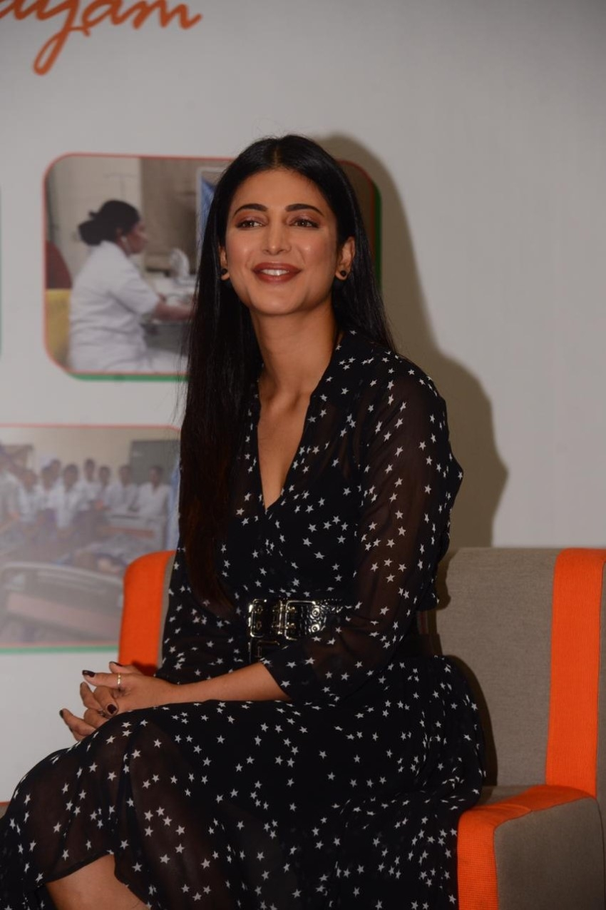 Shruti Haasan at RPG foundation, an NGO committed towards women empowerment Photos