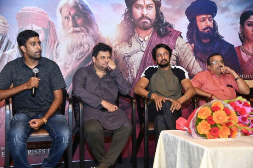 Sye Raa Narasimha Reddy Film Success Meet Photos