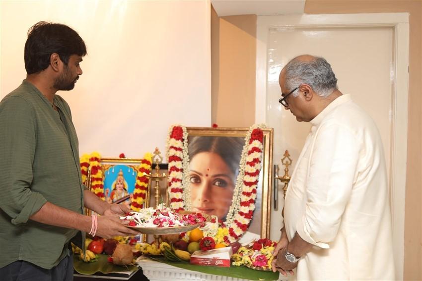 Valimai(AK 60) Movie Pooja Photos