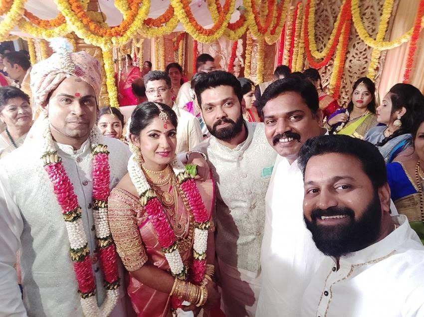 Yagna Shetty And Sandeep Shetty Marriage Photos