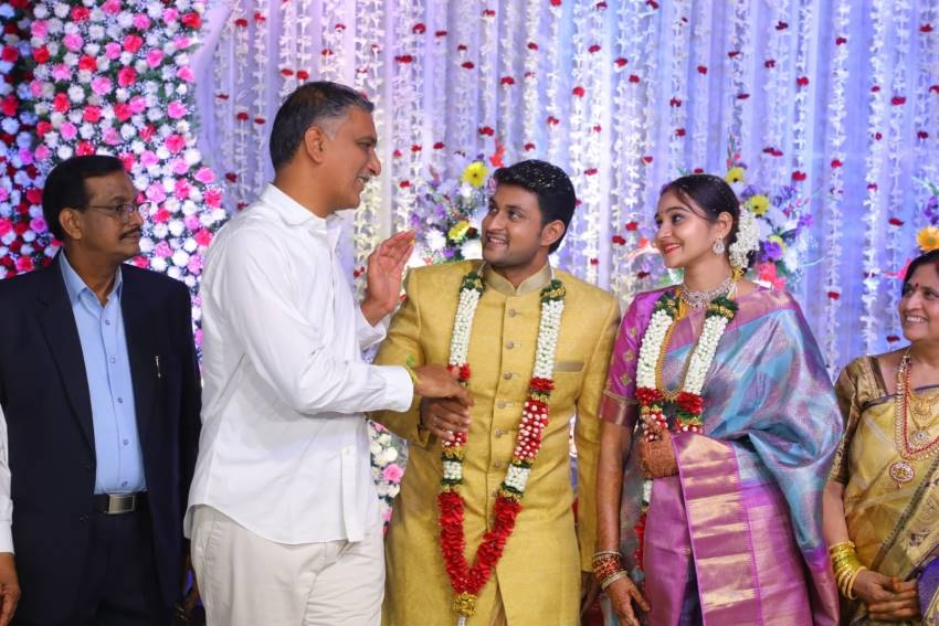 Actor Koushik Wedding Reception Photos