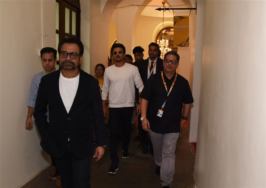 Anil Kapoor At IIFA 2019, Goa Photos
