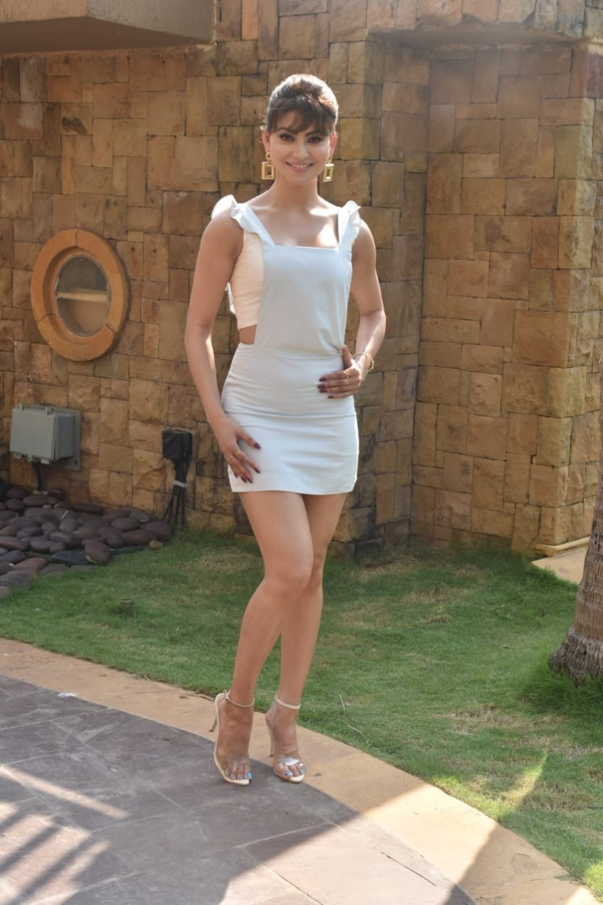 Anil Kapoor, Ileana D'Cruz, Urvashi Rautela & Others snapped promoting the film 'Pagalpanti' Photos