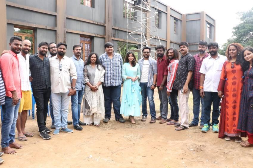 Bobby Simhaa's Next Movie Pooja Photos