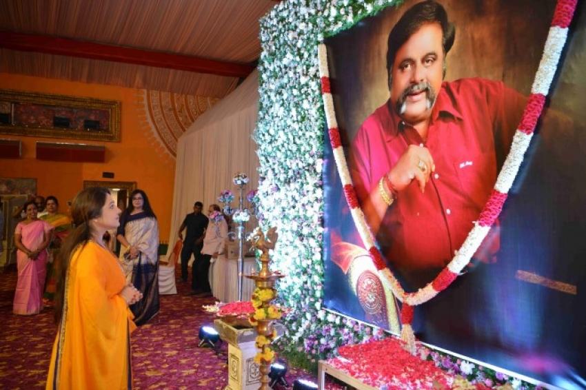 Celebs at Ambareesh Death Anniversary Ceremony Photos