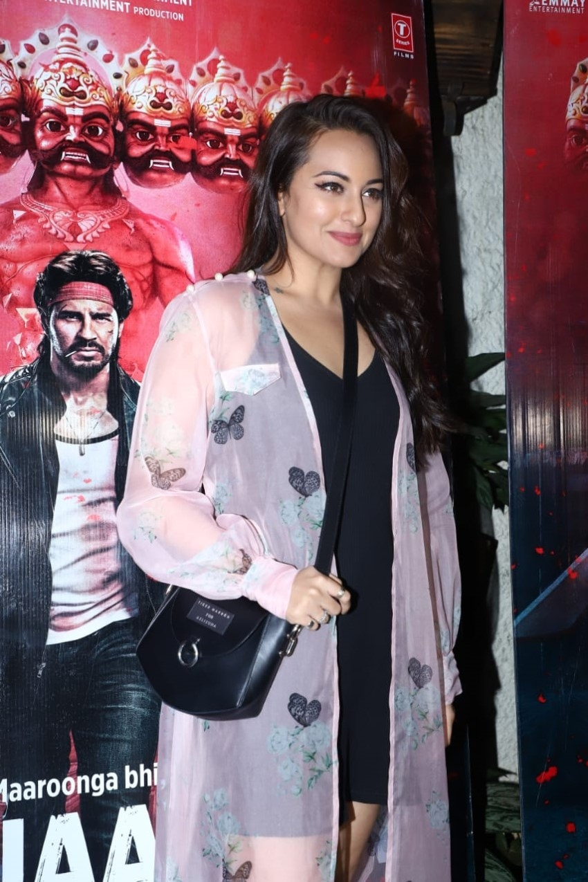 Celebs At Special Screening Of Marjaavaan Photos