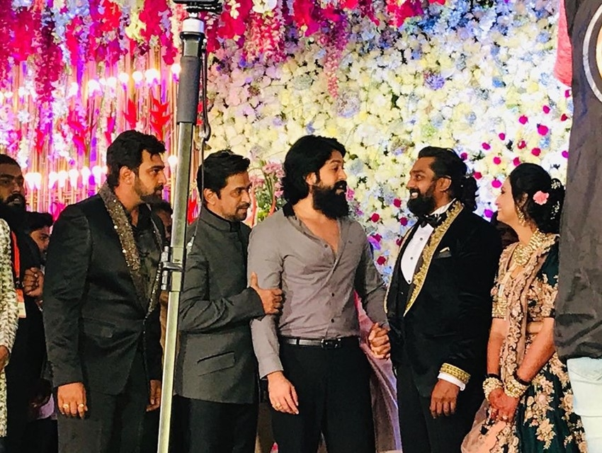 Dhruva Sarja Wedding Reception Photos