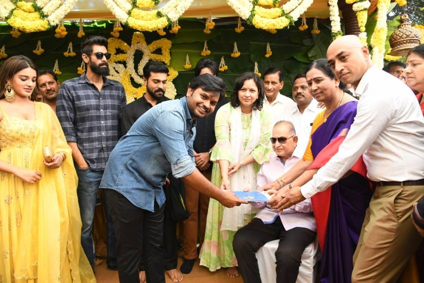 Galla Ashok Movie Opening Photos