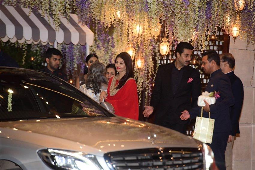Grand Daughter of Dhirubhai Ambani's Nayantara Kothari Pre Wedding Bash Photos