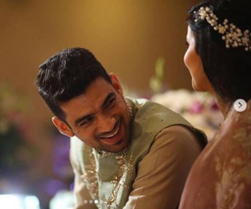 Inside photos of Kangana Ranaut's Brother Akshit Ranaut Engagement Ceremony Photos