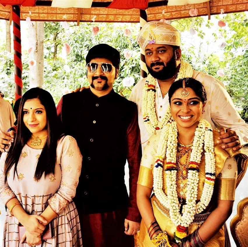 Kannada Rapper All Ok Marriage Photos