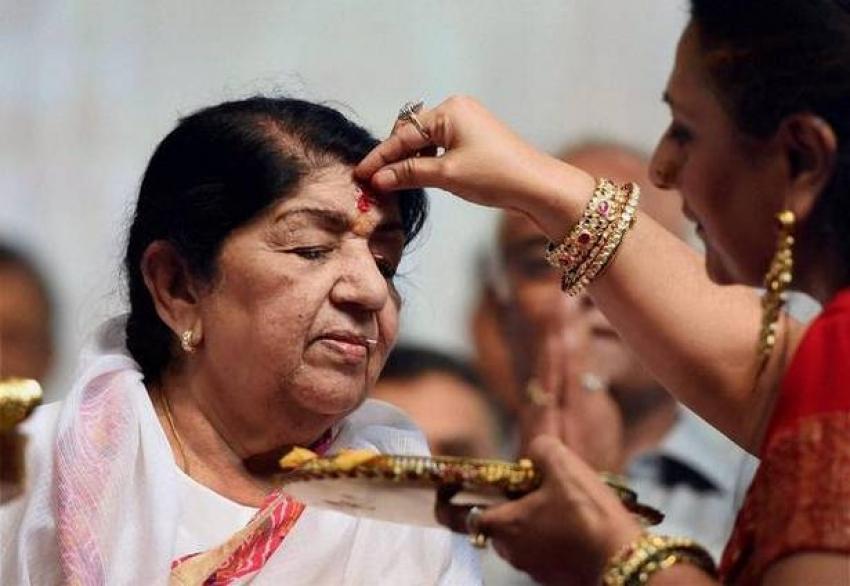 Lata Mangeshkar Unseen Photos
