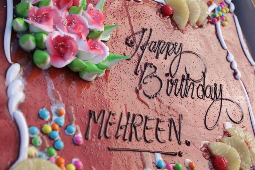 Mehreen Birthday Celebrations Photos
