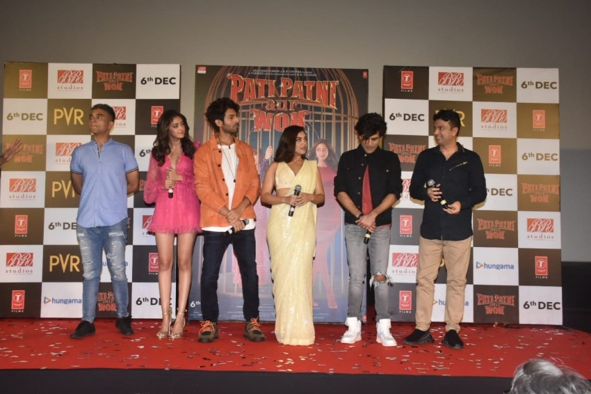 Pati Patni Aur Woh Trailer Launch Photos