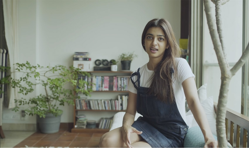 Radhika Apte Lavish Modern House Photos