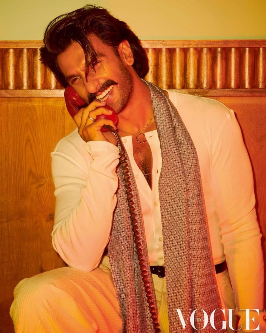 Ranveer Singh latest photoshoot for Vogue India Photos