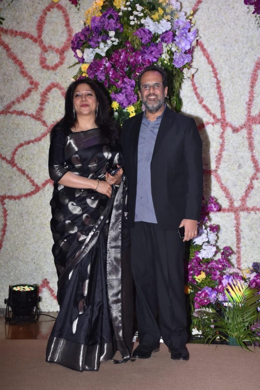 Rekha, Anil Kapoor, Tabu & Other Celebs at Sooraj Barjatya's Son Devaansh Barjatya Wedding Reception Photos