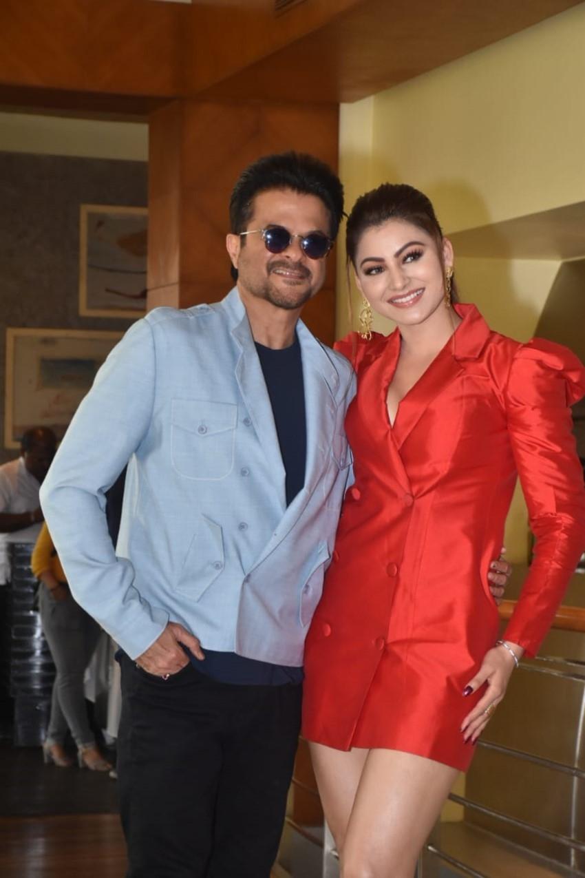 Star Cast of 'Pagalpanti' snapped promoting their film in Mumbai Photos