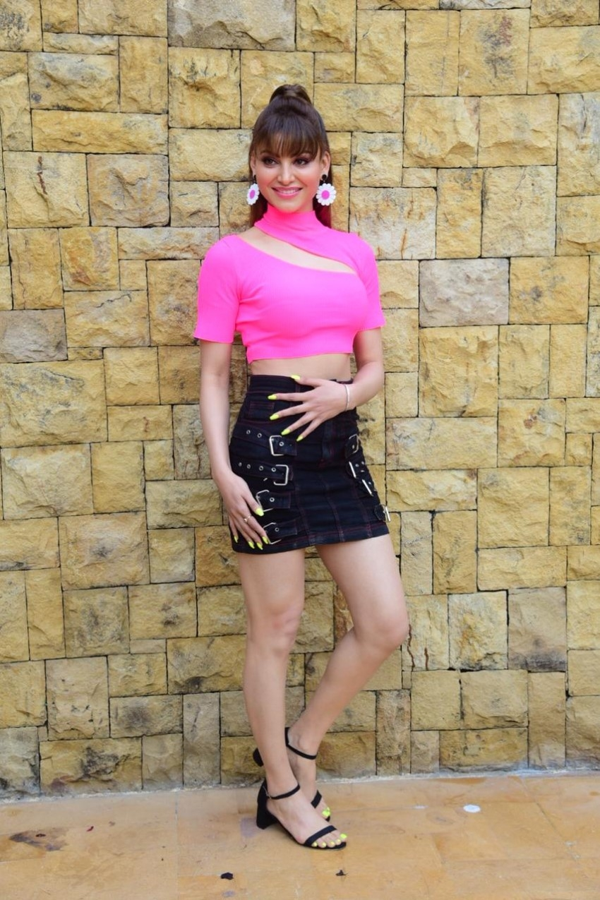 Star Cast of 'Pagalpanti' snapped promoting the film in Mumbai Photos