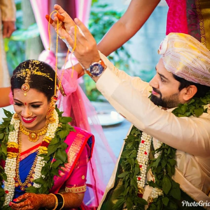 Subbalakshmi Samsara Fame Bhavani Singh And Pankaja Marriage Photos