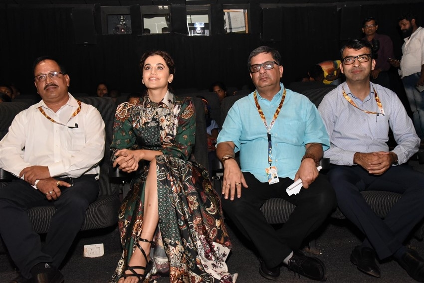 Taapsee Pannu At IIFA 2019 At Goa Photos