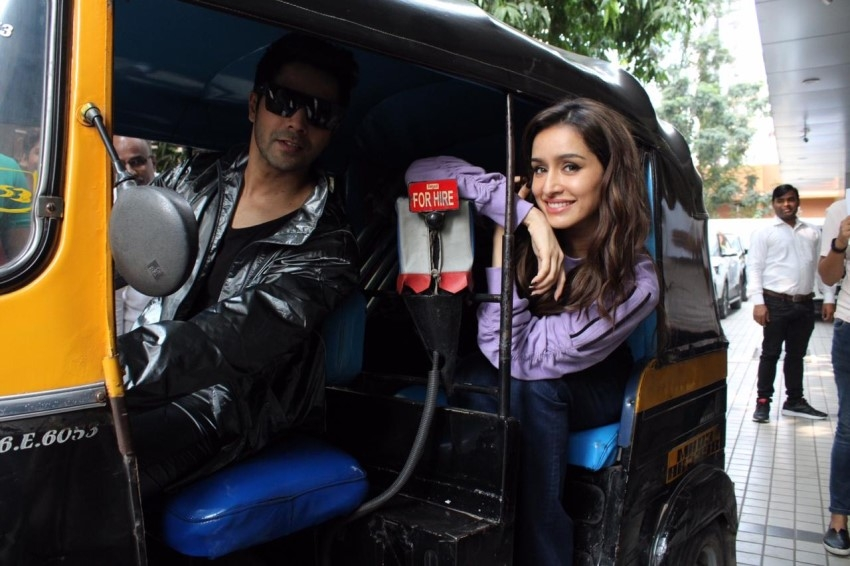 Varun Dhawan, Shraddha Kapoor & Nora Fatehi Snapped Promoting Film Street Dancer 3D Photos