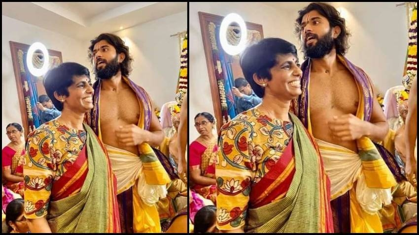 Vijay Deverakonda New Bungalow Opening Ceremony Photos