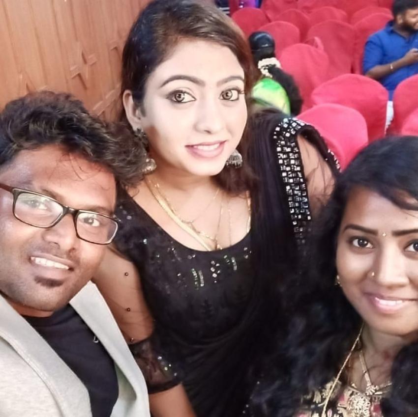 Vijay Tv Fame Nandhini Myna And Yogesh Marriage Photos