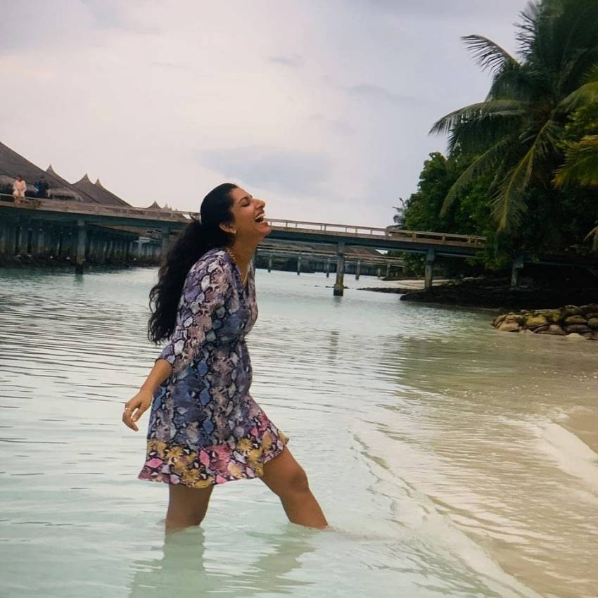 Vishnupriya Maldives Vacation Photos