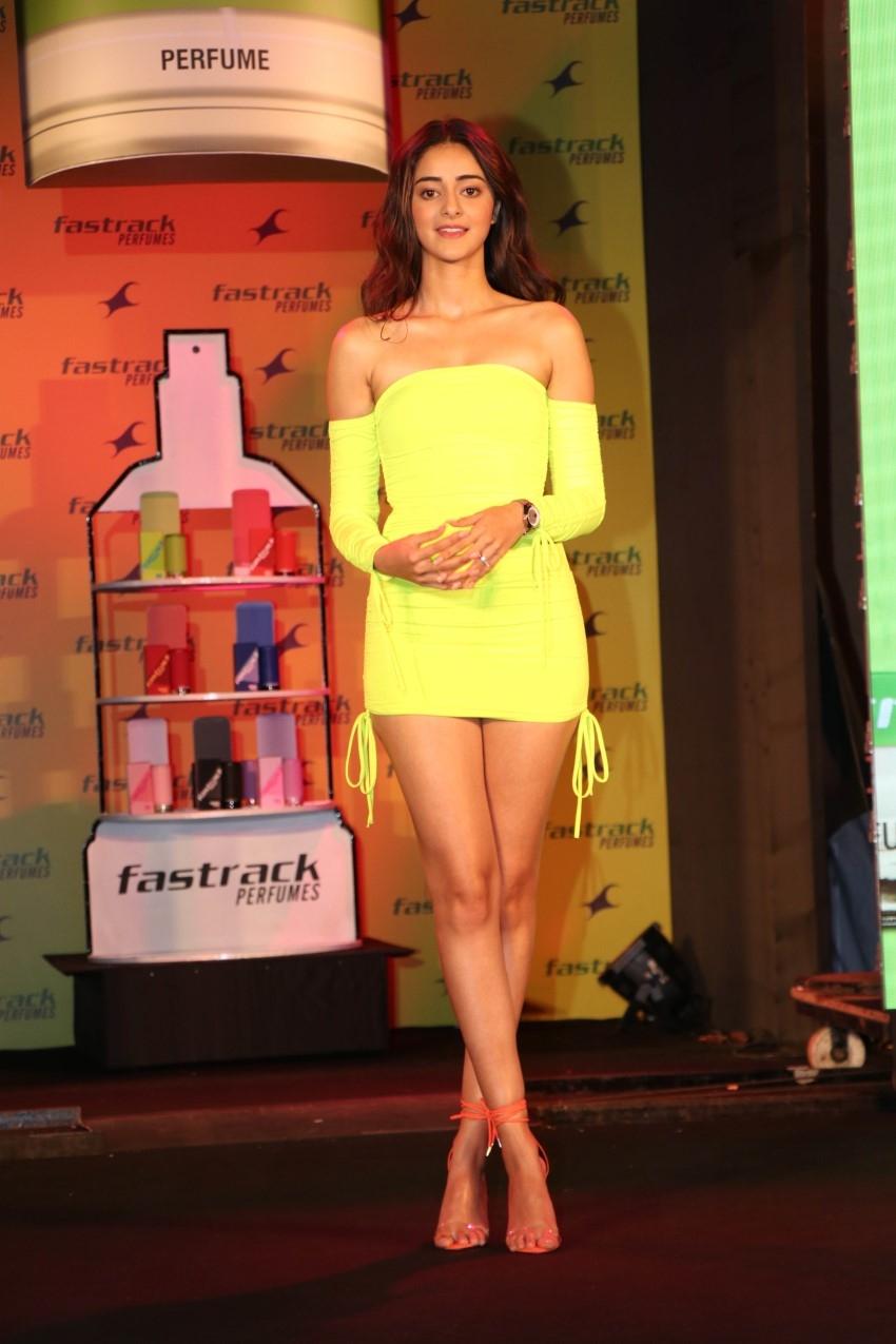Ananya Panday at the launch of Fastrack Perfumes Photos