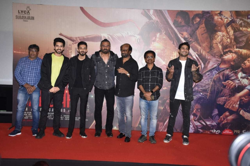 Darbar Movie Trailer Launch Photos