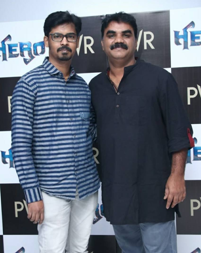 Hero Movie Trailer Launch Photos