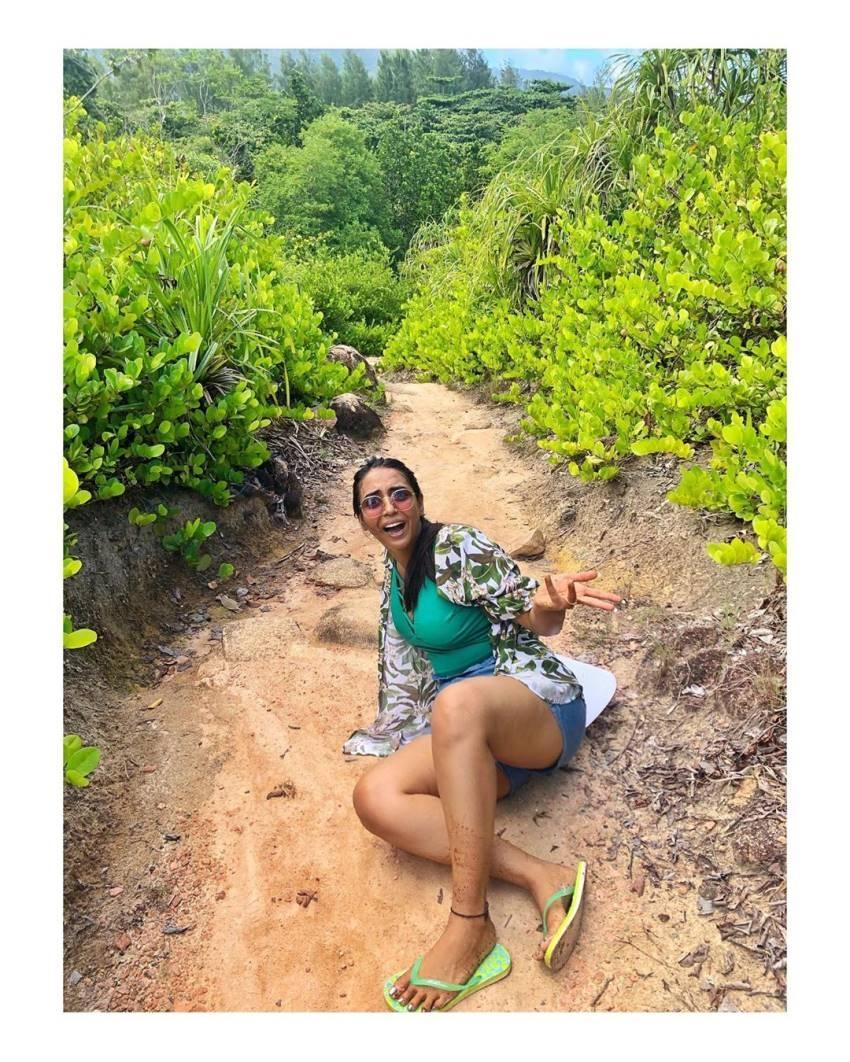 Hitha Chandrashekar And Kiran Srinivas Seychelles Islands Romantic Honeymoon Photos