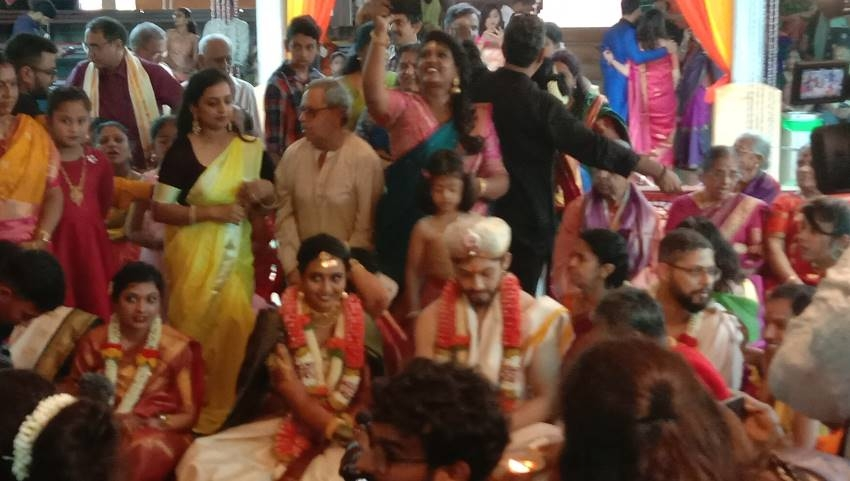 Hitha Chandrashekar And Kiran Srinivas Wedding Photos