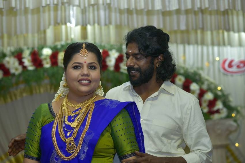 Malayalam Actress Sneha Second Marriage Photos