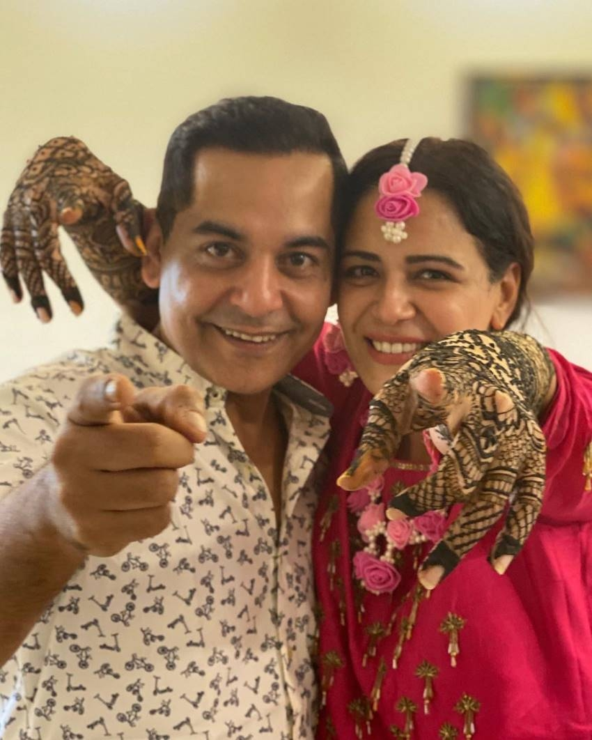 Mona Singh And Shyam Wedding Pics Photos