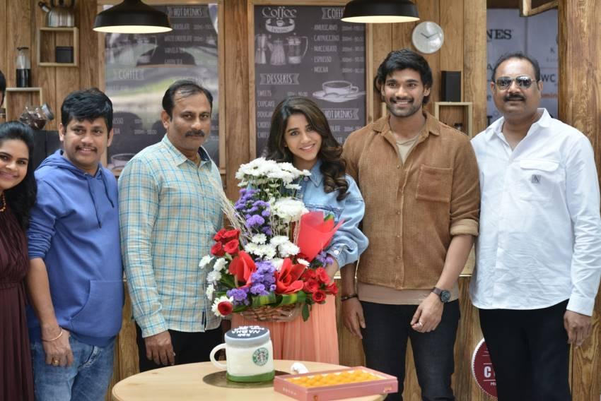 Nabha Natesh Birthday Celebrations on the Sets of BSS8 Photos