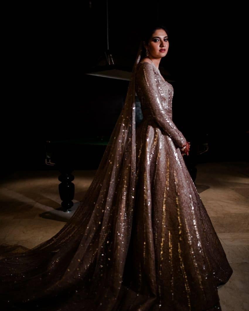Sania Mirza's sister Anam Mirza Wedding Reception Photos