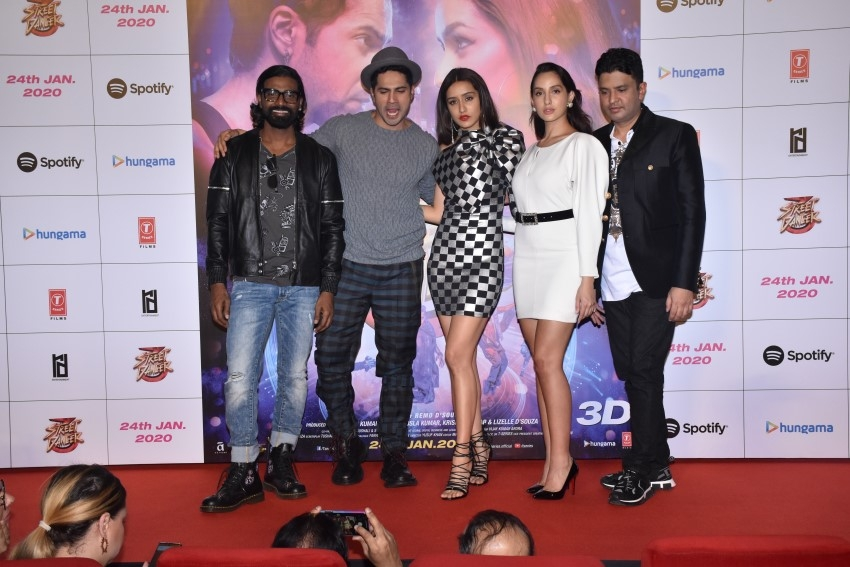 Street Dancer 3D Trailer Launch Photos
