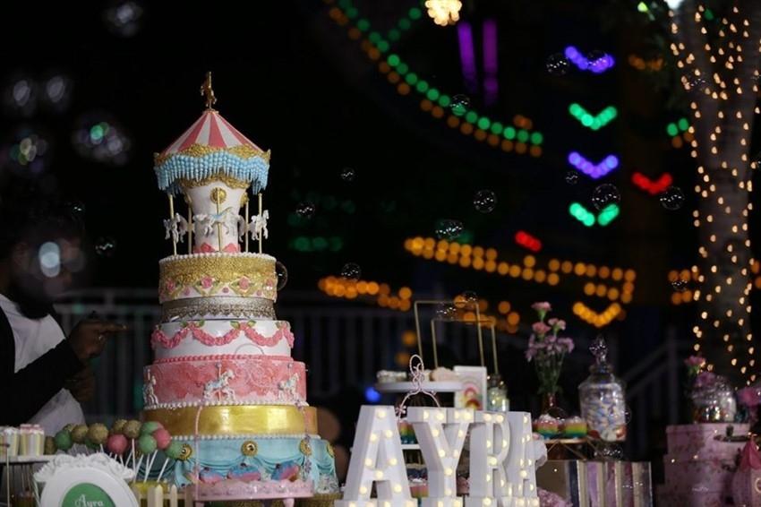 Yash Daughter Ayra 1st Birthday Celebration Photos