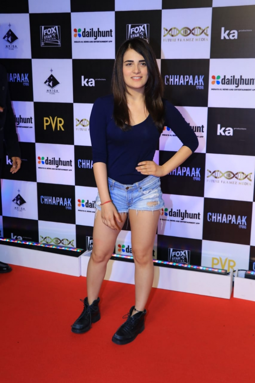 Celebs At Chhapaak Special Screening Photos