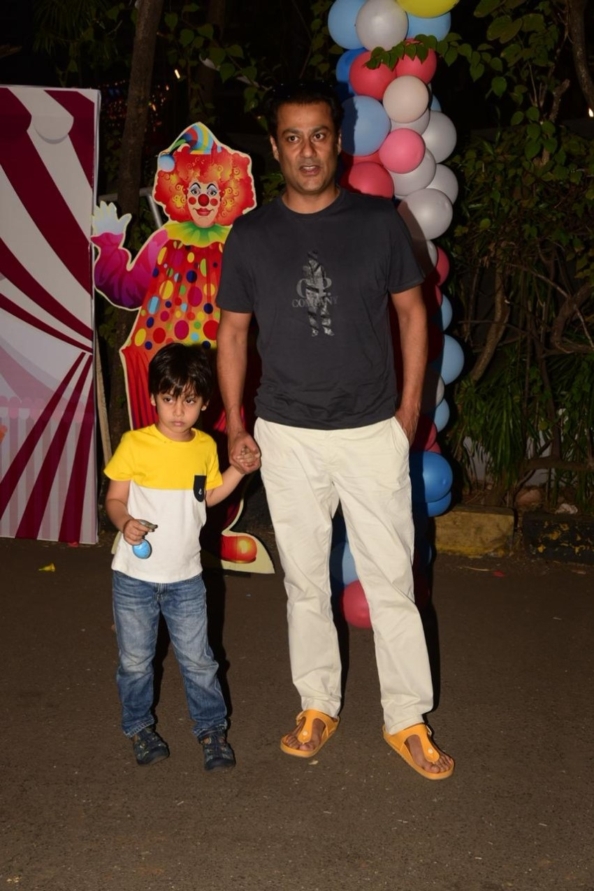 Celebs at Ekta kapoor's son ravie kapoor's birthday celebration Photos